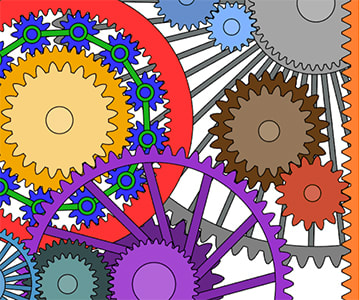 Wikimedia Commons attribution: https://commons.wikimedia.org/wiki/File:Unnecessarily_complicated_gears_a.gif
